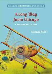 A long way from chicago by richard peck book cover