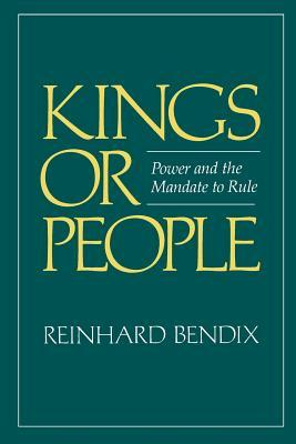 cover of Kings or People by Reinhard Bendix