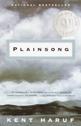 Plainsong by kent haruf book cover