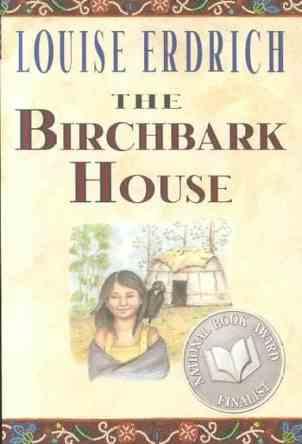 The Birchbark House by Louise Erdrich book cover