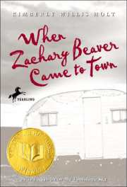 When Zachary Beaver Came to Town book cover by Kimberly Willis Holt
