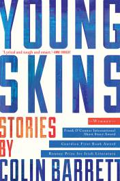 book cover colin barrett young skins