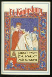 cover of A Proud Taste for Scarlet and Miniver by E L Koinsburg