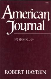 cover of American Journal by Robert Hayden
