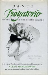 cover of Dante's Purgatorio translated by Allen Mandelbaum