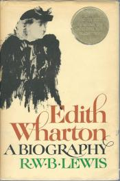 cover of Edith Wharton A Biography by R W B Lewis