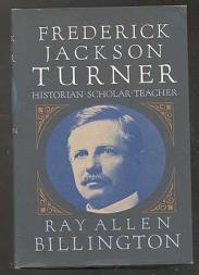 cover of Frederick Jackson Turner by Ray Allen Billington