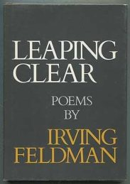 cover of Leaping Clear and Other Poems by Irving Feldman