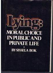 cover of Lying by Sissela Bok