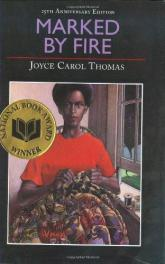 cover of Marked by Fire by Joyce Carol Thomas