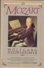 cover of Mozart by Wolfgang Hildesheimer translated by Marion Faber
