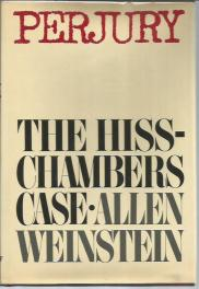cover of Perjury The Hiss Chambers Case by Allen Weinstein
