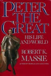 cover of Peter the Great by Rober K Massie