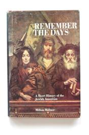 cover of Remember The Days A Short History of the Jewish American by Milton Meltzer