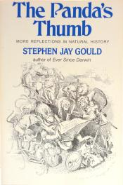 cover of The Panda's Thumb by Stephen Jay Gould