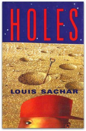 holes louis sachar book cover