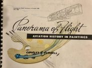 cover Panorama of flight : aviation history in paintings, by Hubbell
