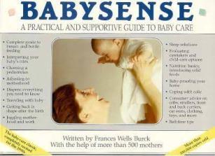 cover of Babysense by Frances Wells Burck