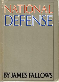 cover of National Defense by James Fallows