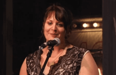Megan Kruse reads at the 2015 5 Under 35 Celebration