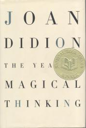 The Year of Magical Thinking by Joan Didion book cover, 2005