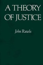 A Theory of Justice by John Rawls book cover