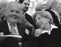 Robert Silvers and Barbara Epstein Receive the 2006 Literarian Award