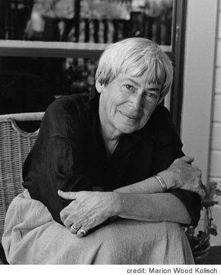 photo of Ursula K Le Guin