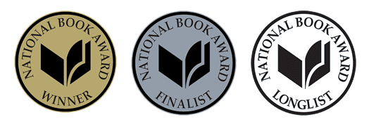 Winner, Finalist, and Longlist digital image logos