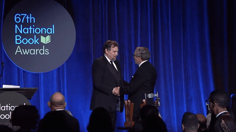2016 National Book Awards - Dr William P Kelly (Full)