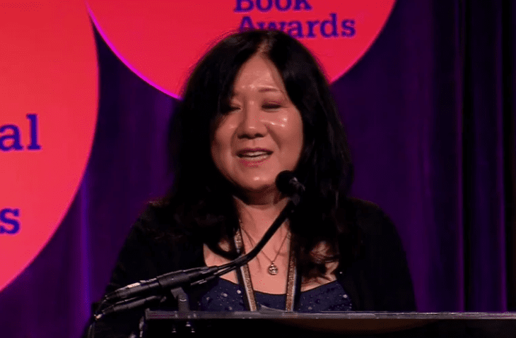 Cynthia Kadohata Accepts the 2013 National Book Award in Young People's Literature
