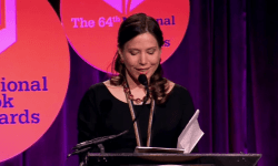 Mary Szybist Accepts the 2013 National Book Award in Poetry