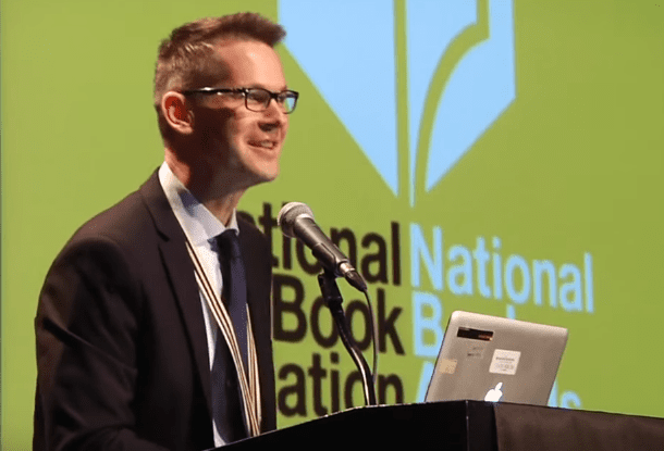 Patrick Phillips reading at the 2015 National Book Awards Finalists Reading