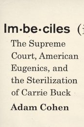 Imbeciles, by Adam Cohen book cover