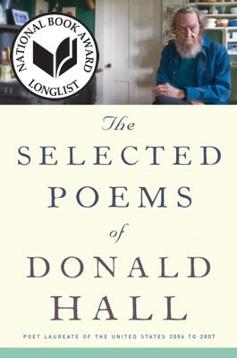 The Selected Poems of Donald Hall, book cover