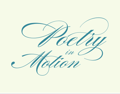 Poetry in Motion, 2017 Innovations in Reading honorable mention