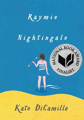 Raymie Nightingale, by Kate DiCamillo book cover