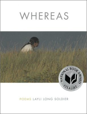 WHEREAS by Layli Long Soldier book cover