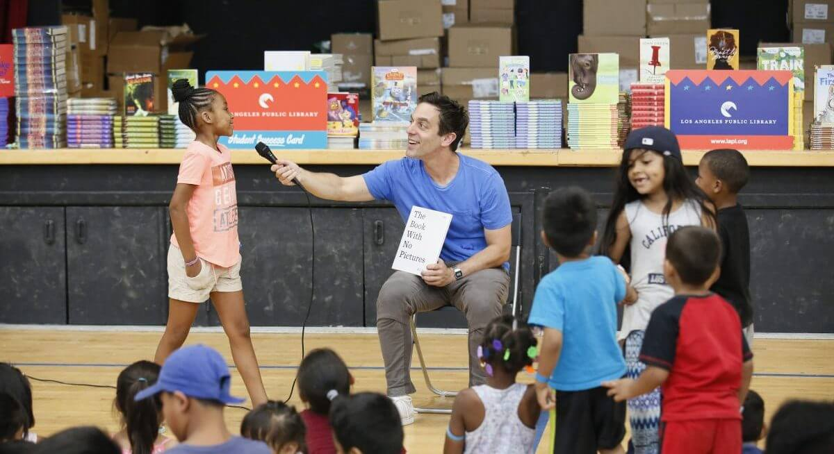 NBF Heads to Los Angeles Book Rich Environments Event with Special Guest B.J. Novak