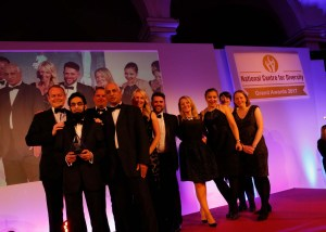 @northern_pr on winning the UK #Transportation Organisation of the Year Award!