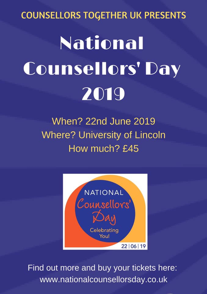 National Counsellors' Day 2019
