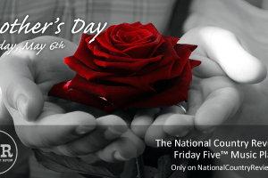 NCR Friday Five - Red Rose by George Hodan (public domain)