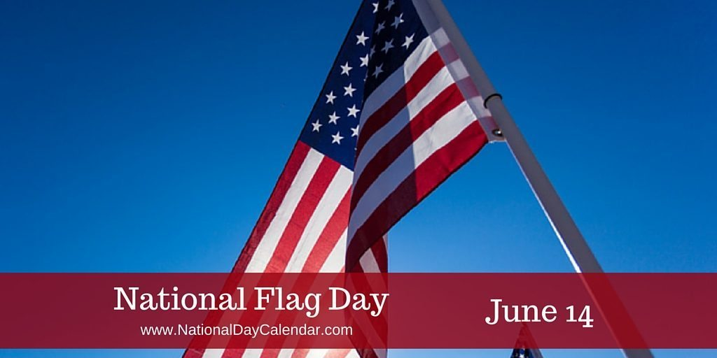 National Flag Day June 14