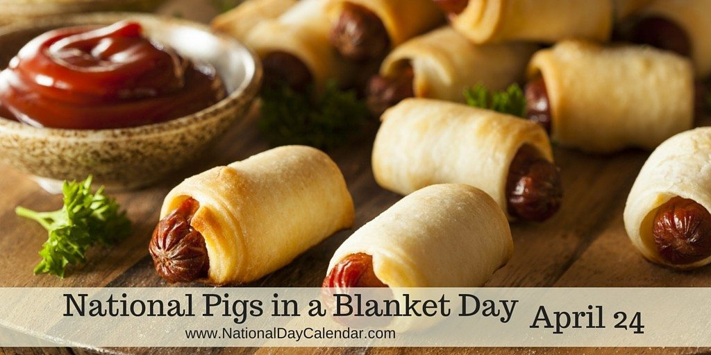 Image result for Images for Pig in a blanket day 2017.