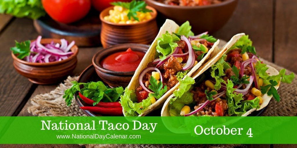 National Taco Day October 4