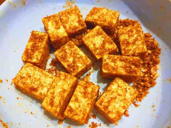 Dry and crumbly spice mix for paneer Indian food from National Dish