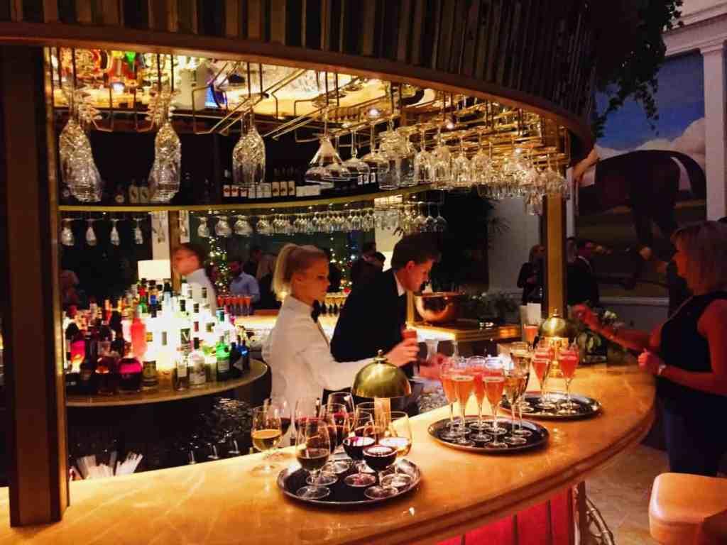 The rotunda bar at The Ivy Cheltenham