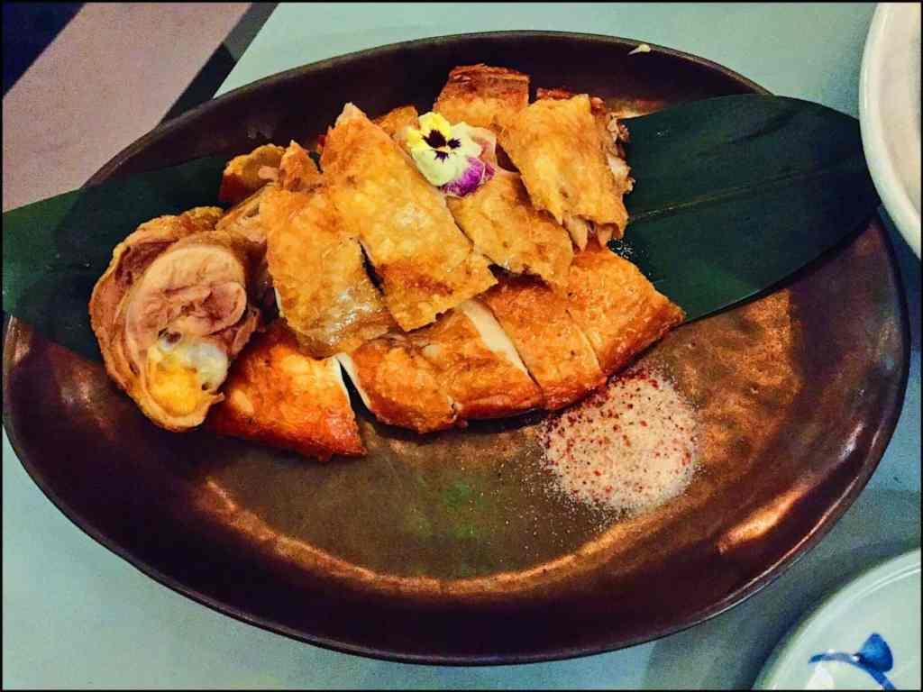 12 hour Cantonese crispy salted chicken