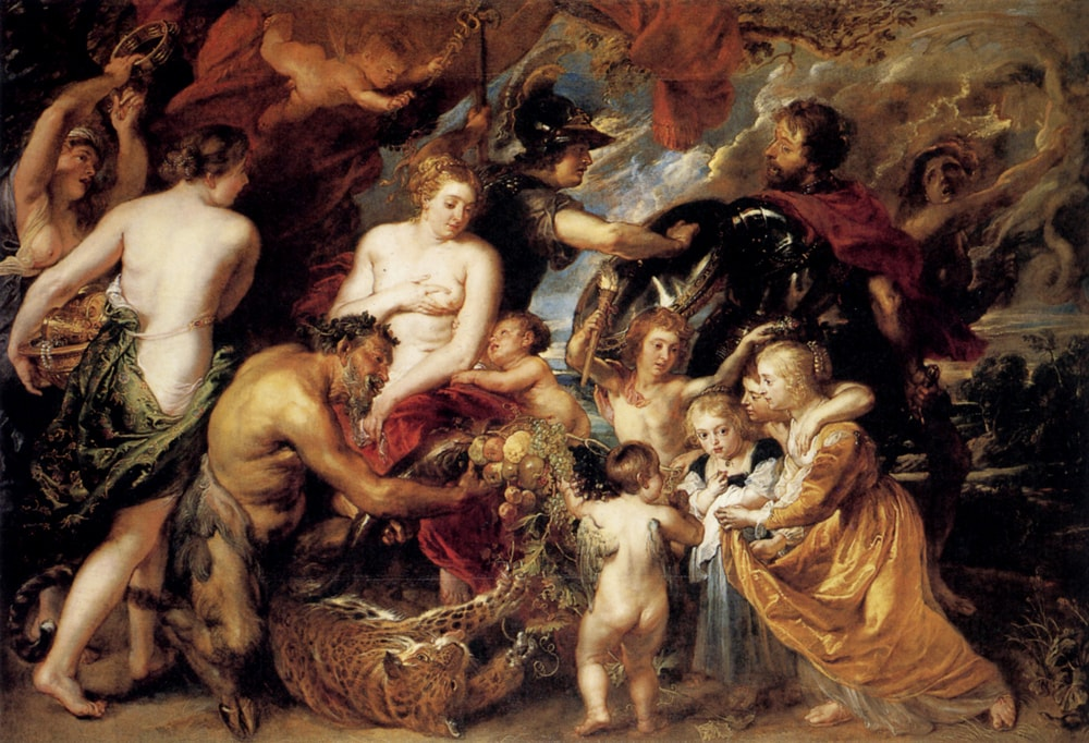 Allegory on the Blessings of Peace, Peter Paul Rubens, 1630