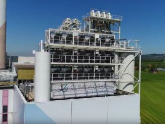 climeworks, a swiss compay, has opened the world's first carbon capture plant in Hinwil, switzerland